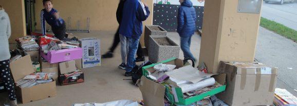 Jesenska zbiralna akcija odpadnega papirja