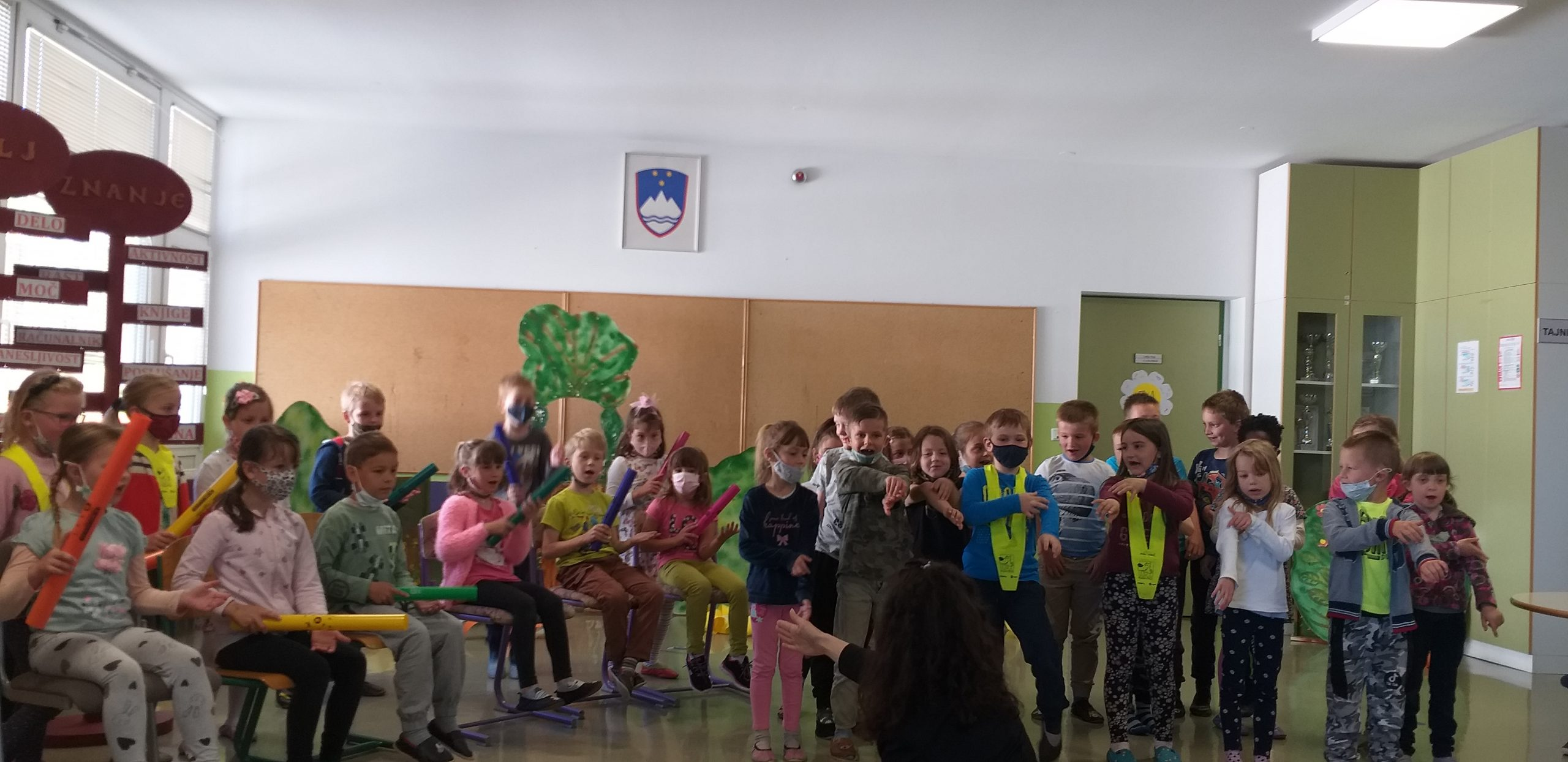 Sprejem prvošolcev v skupnost učencev